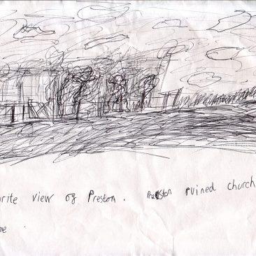 Josh's favourite view of preston